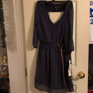 BCX Polka Dot Dress